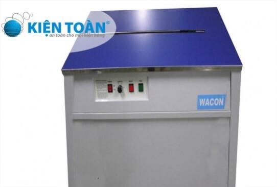 Máy đóng đai nhựa bán tự động Model WA-202